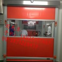 山东泰安市电动工业门pvc快速卷帘门