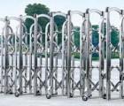 桥头伸缩门哪里可以做不锈钢电动伸缩门尺寸电子伸缩门价格