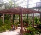 [PS塑胶木]是户外花架首选材料,用于别墅、园林工程