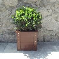 济南可信赖的防腐木花箱提供商