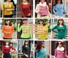显瘦秋装便宜女装货源低价促销长袖T恤打底衫几元便宜批发