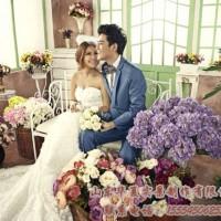 求购婚纱实景影棚制作 韩式实景制作