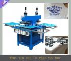 东莞JY-B04全自动矽胶机 服装商标生产流水线凹凸压纹机器