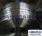 浙江301不锈钢弹簧钢带全硬分条刮边精密卷簧