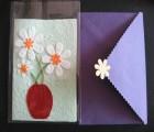 创意贺卡定制 泰国手工纸贺卡 环保贺卡印刷