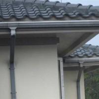 莒南县别墅标准成品PVC天沟。雨水管