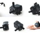 4-12V微型水泵D30A进出水口8mm,4W3米扬程小水泵