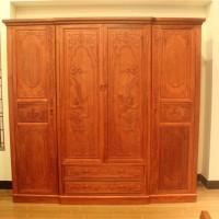 缅甸花梨木家具花梨木衣柜价格卧室成套家具价格