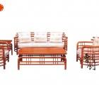 供应东阳市红木家具批发非洲花梨木园艺沙发现代中式