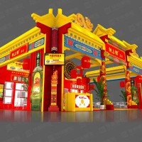上海农博会展台设计搭建