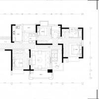 金域华府后现代四室两厅装修设计-南京一号家居-南京的家装