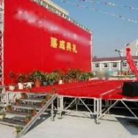 柳州舞台背景桁架租赁1柳州舞台便宜出租