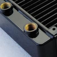 芯睿syscooling纯铜PD120水冷系统专用换热器