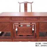 大果紫檀办公桌家具价格,鲁创红木厂家批发