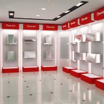中山电器展柜超市展架商场展示架玛斯特定制中山电器展柜图片