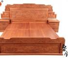 红木家具双人床 刺猬紫檀花梨木实木中式大床