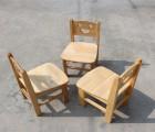 【橡胶木椅子】幼儿园樟子松椅子/橡胶木椅子/靠背椅子/实木制椅/儿童原木椅子