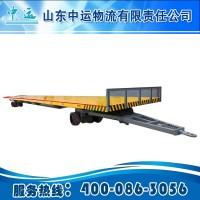 滚动平台平板拖车