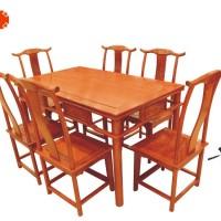 明式红木餐桌红木家具