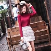 韩版针织衫批发货到付款网站时尚女装批发
