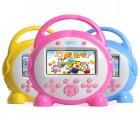 【儿童故事机】道勤MU604S儿童故事机8G早教机16G视频早教动画娃娃机可充电下载