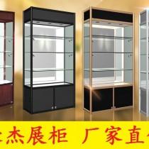 钛合金展示柜 展柜 展架 展示架 精品货架 精品架 玻璃展架图片