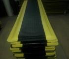 橡胶垫耐磨|黑色无味防静电地垫|纯橡胶抗疲劳脚垫