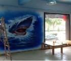 济南海鲜墙体绘画哪家好?【金盛