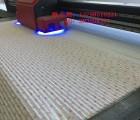 风琴帘UV平板印花机-深圳迈创大幅面蜂巢帘数码印刷打印机