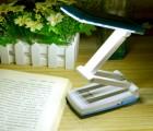 康铭LED6672T可太阳能 光电产品 充电折叠台灯