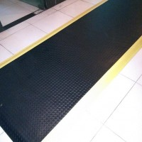 缓解疲劳脚垫|耐5MM绿色防静电