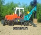 河北霸州厂家华建型号全 旋挖机施工注意事项 旋挖机快速作业