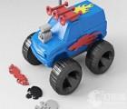 东莞3D打印翻斗特技车双面车反斗车儿童玩具电动翻斗玩具车