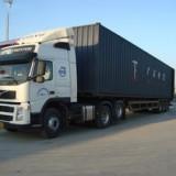周一周二危险品货物拖车海关监管拖车青岛港的集卡运输车队
