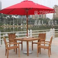 别墅柚木桌椅户外柚木餐台缅甸柚木桌椅