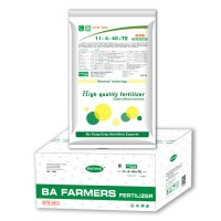 加拿大进口芭芳大量元素水溶肥11-4-40+TE高钾膨果增甜