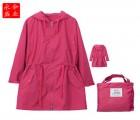 青海分体雨衣/儿童雨衣带书包位/PVC雨衣各种规格