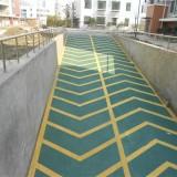 南京地下车库防滑坡道,无振动防滑车道,止滑车道施工