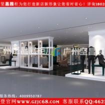 中山商场内男装店铺面货架展示柜设计生产出售批发价格