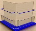 有机玻璃3d眼镜展示架、有机玻璃、汇广工艺品