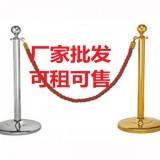 大连现货不锈钢挂绳栏杆一米线护栏围栏钛金迎宾礼宾杆柱警戒隔离