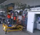 数控角钢高速钻孔生产线/角钢冲钻高速复合生产线