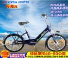 喜德盛锂电池电动车自行车LG进口锂电20寸48v伏电动自行车