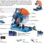 电动型材切割机多功能切割机进口型材切割机