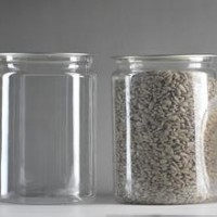 pet塑料易拉罐茶叶罐干果密封罐
