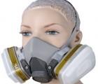 3M 6200防尘防毒半面罩