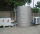 供应圆柱形保温水箱,5公分聚氨酯发泡不锈钢保温水箱