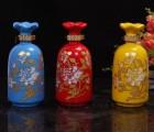 1斤装青花瓷酒瓶批发价格,景德镇定做陶瓷酒瓶礼盒酒瓶厂家