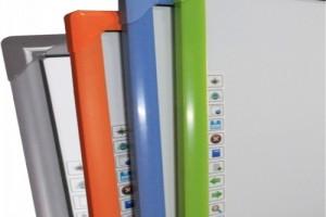 时信达红外交互式电子白板小尺寸,大用途,配套投影机使用