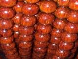 仙游刘远田佛珠小叶紫檀0.8新开超级鸡血红带星多星高密油